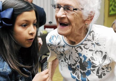 Students or Seniors can enjoy Reiki