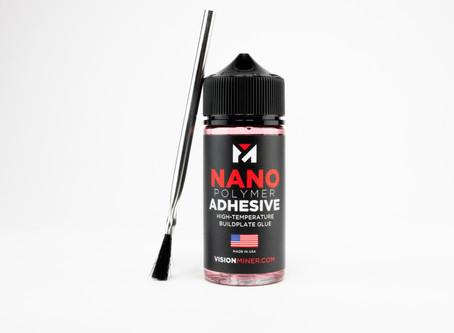 最強プレート接着剤 Nano polymer 登場!