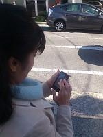 携帯電話による徘徊高齢者実証実験