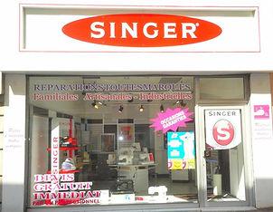 Magasin SINGER Romans sur Isère