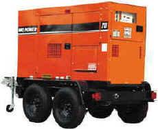 MQ 70 Power Super-Silent WhisperWatt 25 to 150 kVA - Single