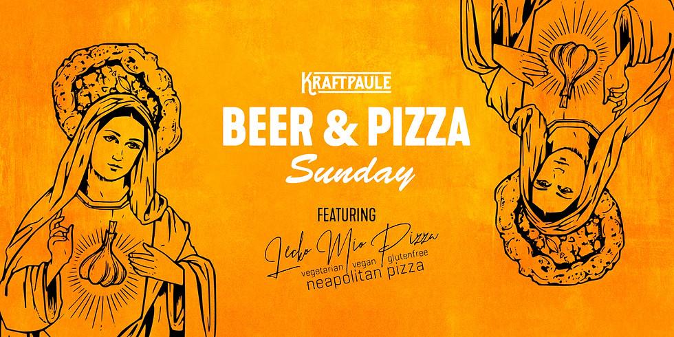 BEER & PIZZA SUNDAY feat Lecko Mio Pizza (vegan/vegi/glutenfree)