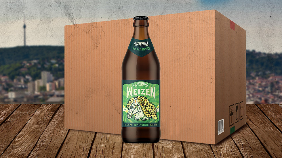 Kraftpaule - Hopfenweizen 12er Box