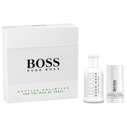 Hugo Boss   Boss Bottled Unlimited   Set   מארז מבושם לגבר