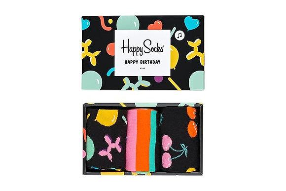 Happy Socks | 41-46 | מארז גרביים | יום הולדת