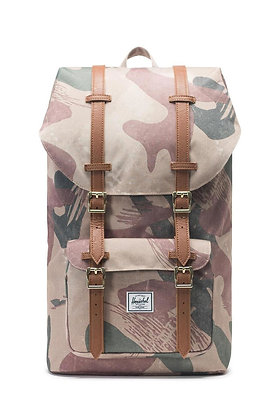 Herschel Supply Co | Little America Mid Vol | תיק גב | הסוואה אמריקאית