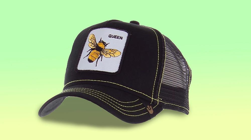 כובע גורין עם דמות דבורה לשנה מתוקה במיוחד