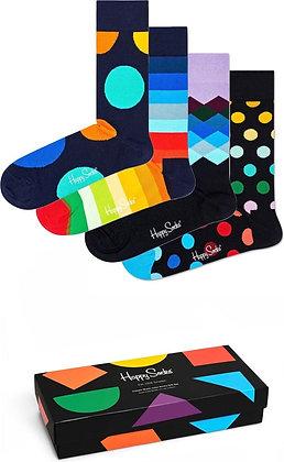 Happy Socks | 36-40 | מארז גרביים | צבעוני