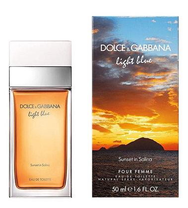 Dolce & Gabbana | Light Blue - Sunset In Salina | 50ml | בושם לגבר