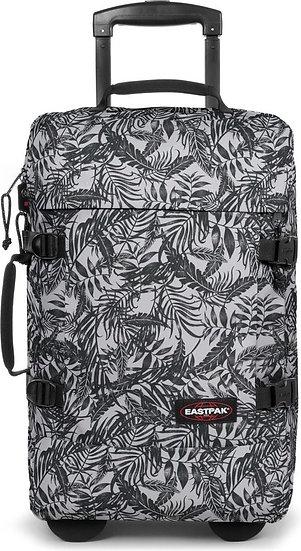 Eastpak | Tranverz S | מזוודה קטנה | עלים שחור לבן