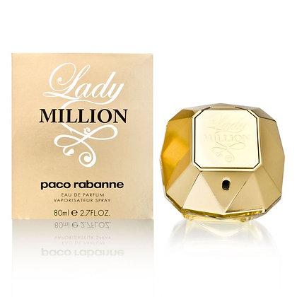 Paco Rabanne | Lady Million | E.D.P | 80ml | בושם לנשים