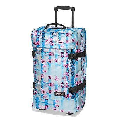 Eastpak | Tranverz M | מזוודה בינונית | פריחה ורודה