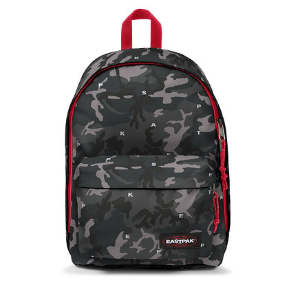 Eastpak | Out of Office | תיק גב | הסוואה אדום