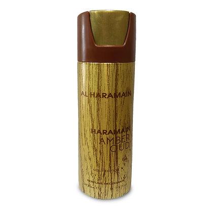 AL Haramain | Amber Oud Gold Edition | 200ml | דאודורנט ספריי לגבר
