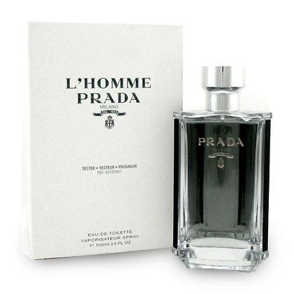 Prada   L'Homme   100ml   EDT   בושם לגבר   טסטר