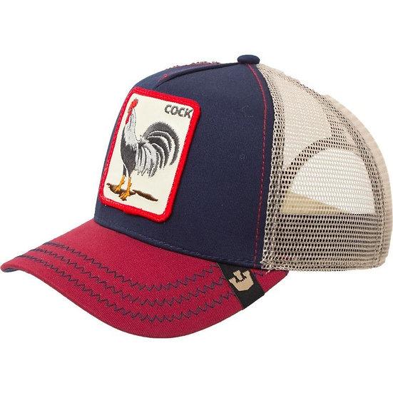 Goorin bros | Cock | כובעי גורין | תרנגול | נייבי אדום