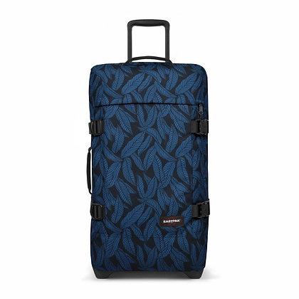 Eastpak | Tranverz M | מזוודה בינונית | עלים כחול