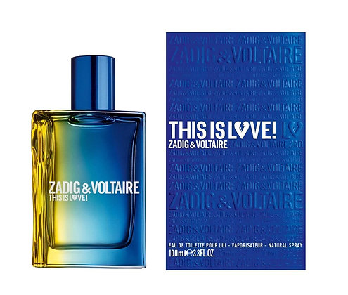Zadig & Voltaire | This is Love | E.D.T | 100ml | בושם לגבר