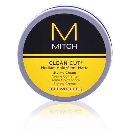 Paul Mitchell | Clean Cut Medium Hold Semi Matte Styling Cream | 80ml