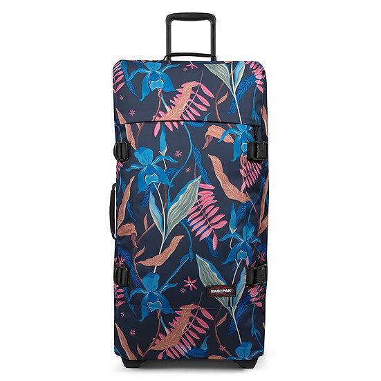 Eastpak | Tranverz L | מזוודה גדולה | ג׳ונגל צבעוני