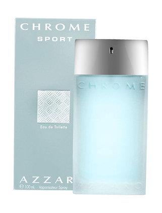 Azzaro | Chrome Sport | E.D.T | 100ml | בושם לגבר