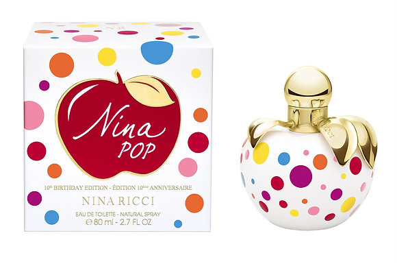 Nina Ricci | Pop - 10th Birthday Edition | E.D.P | 80ml | בושם לאישה
