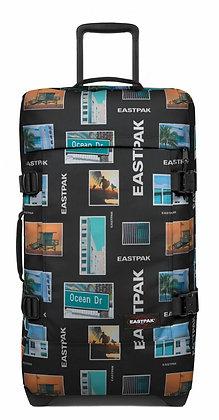 Eastpak | Tranverz M | מזוודה בינונית | סטיקרים