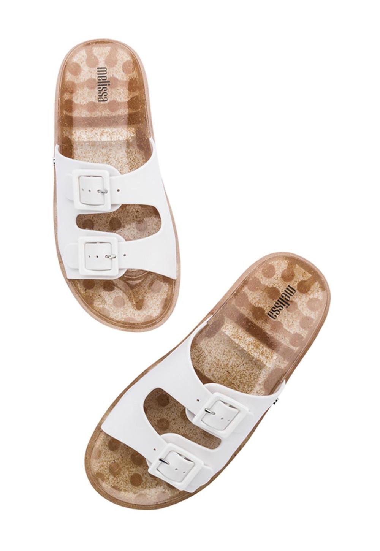 נעלי מליסה מציגים כפכפי סלייד לנשים