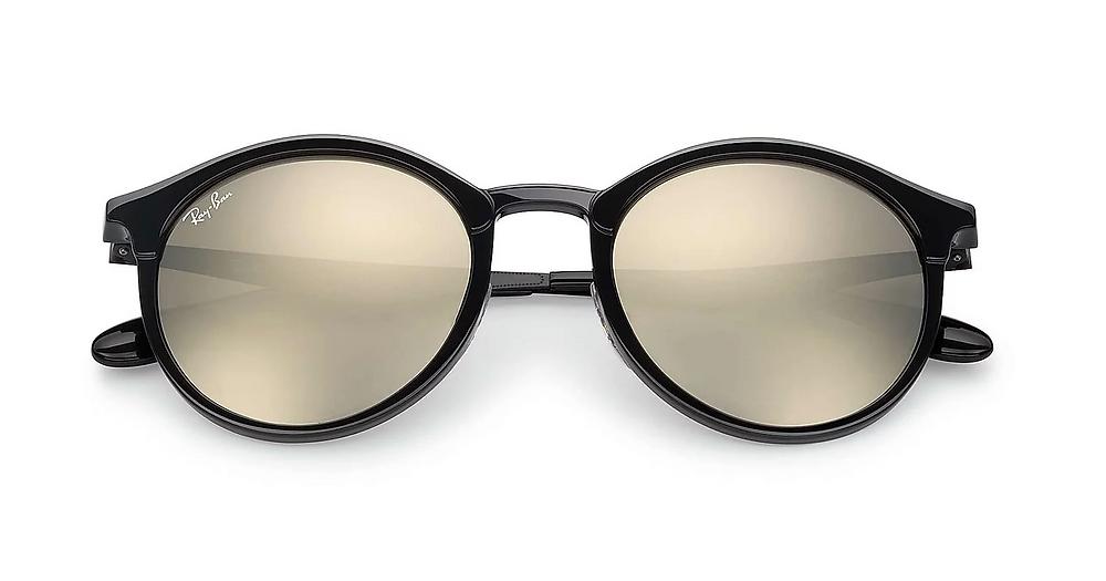 איך לבחור משקפי שמש לפנים עגולות? ״אמה״ של המותג ריי באן 509 ש״ח