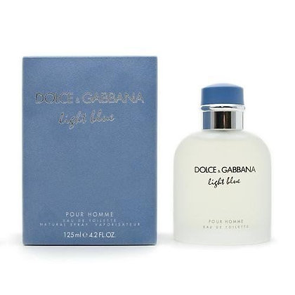 Dolce & Gabbana | Light Blue | 125ml | E.D.T | בושם לגבר
