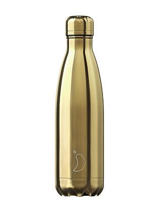 Chilly's | 500ml | בקבוק מים רב פעמי | זהב