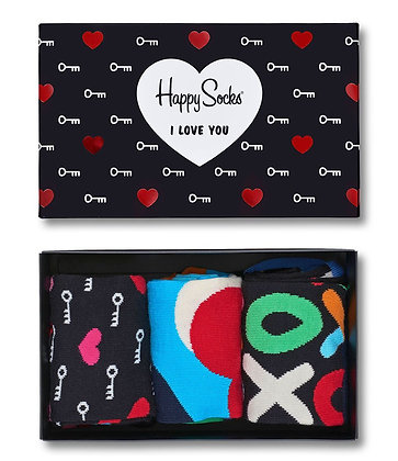 Happy Socks | מארז גרביים | אהבה