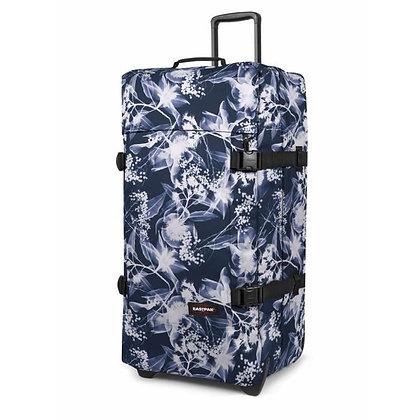 Eastpak | Tranverz L | מזוודה גדולה | פרחוני כחול