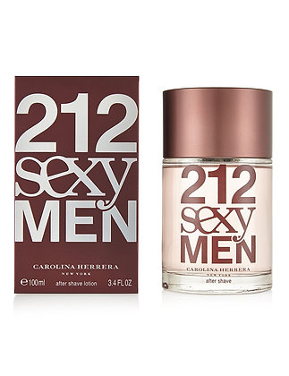 Carolina Herrera | 212 Sexy Men | 100ml | תחליב אפטר שייב