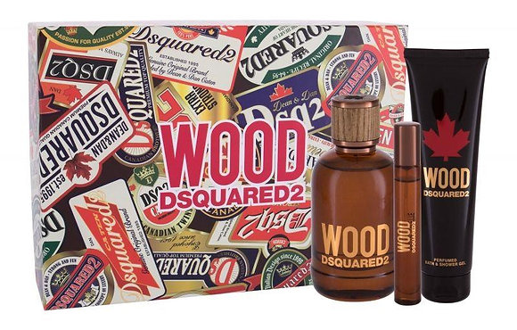 Dsquared2   Wood   Set   דיסקוורד   מארז מבושם לגברים