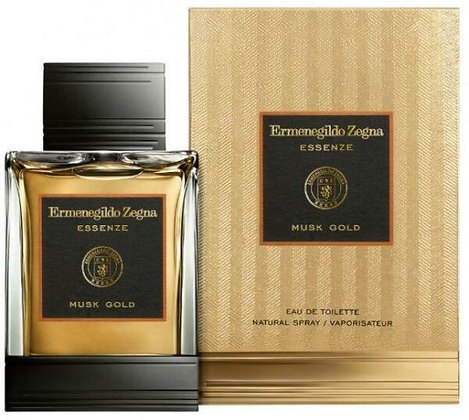 Ermenegildo Zegna | Musk Gold | 125ml | EDT | בושם לגבר