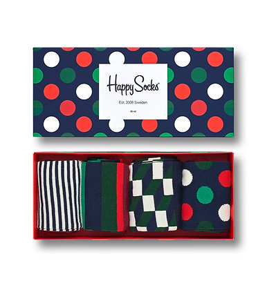 Happy Socks | מארז גרביים | חגיגי
