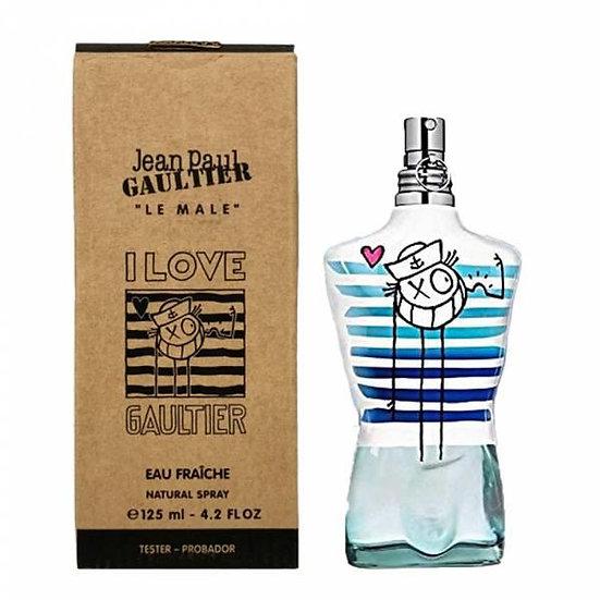 Jean Paul Gaultier   I Love Gaultier Mr A   E.D.T   125ml   בושם לגבר   טסטר