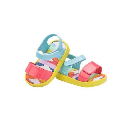 Mini Melissa | Jump Sunny Day | סנדלים לפעוטות | קשת צבעוני
