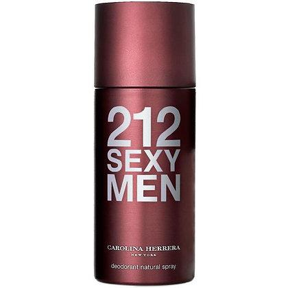 Carolina Herrera   212 Sexy Men   דאודורנט ספריי לגבר
