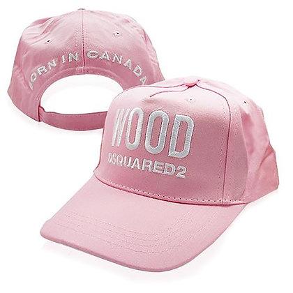 Dsquared2 | Wood Cap | כובע מצחייה | ורוד