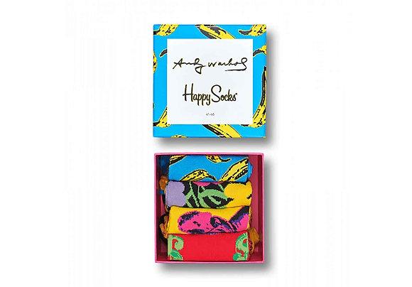 Happy Socks | Andy Warhol | מארז גרביים