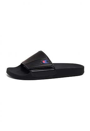 Champion | Slide Velcro Slide | כפכפים לנשים | שחור