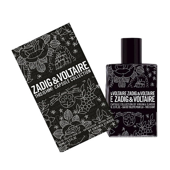 Zadig & Voltaire | This Is Him Capsule Collection | E.D.T | 100ml | בושם לגבר