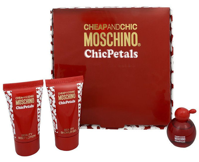 Moschino  | Cheap and Chic - Chic Petals | E.D.T | סט מבושם לנשים