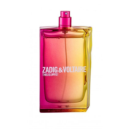 Zadig & Voltaire | This Is Love | 100ml | E.D.P | בושם לנשים | טסטר