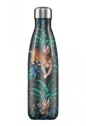 Chilly's | 500ml | בקבוק מים רב פעמי | נמר טרופי