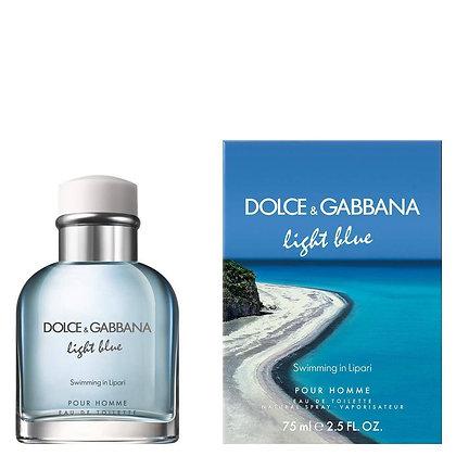 Light Blue Swimming in Lipari דולצ׳ה וגבנה בושם לגבר