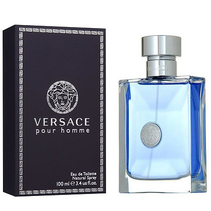 Versace   Pour Homme   100ml   E.D.T   בושם לגבר