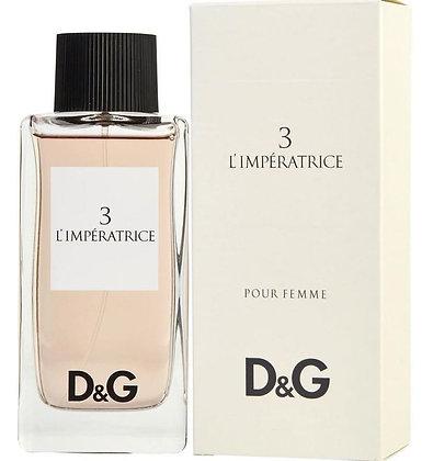 Dolce & Gabbana | 3 L'imperatrice | E.D.T | 100ml | דולצ׳ה וגבנה בושם לאישה